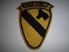 Vietnam War US 1st Cavalry Division HONOR GUARD Hand Sewn Patch