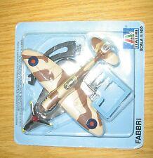 Italeri fabbri 1/100 diecast Spitfire ovp