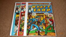 WYATT EARP #30, 31,  33 LOT OF 3 BOOKS GRADE VF MARVEL WESTERN