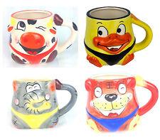 Becher 4 Stück  Set Tasse mit Henkel Kaffetasse lustige Motive String