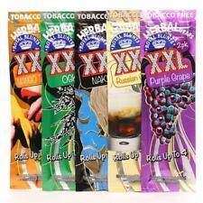 5 Packets of Royal Blunts XXL Herbal Hemp Wraps (Variety)