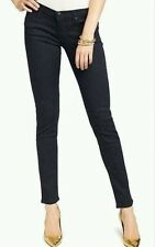 Juicy Couture All Over Bling Rhinestones Skinny Jean Navy 25 (Black Label) $178