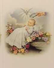 """New Born Baptism Favor - """"Printable Do It Yourself"""" - 1 Sheet 8 Cards, Italy"""