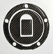 Fit Kawasaki ZX-12R 02-04 real carbon fiber gas tank cap sticker pad protector