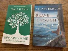 Stuart Briscoe Bible Study Participant Books Brave Enough Improving With Age