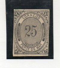 Mexico Porte de Mar Valor del año 1878 (DA-958)