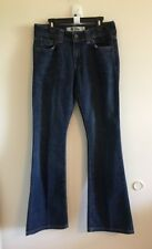 Womens Gap Curvy Low Rise Jeans Sz 4 Ankle Boot Cut Dark Wash #8