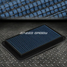 FOR 04-06 SOLARA/CAMRY/SIENNA BLUE REUSABLE&WASHABLE HIGH FLOW PANEL AIR FILTER