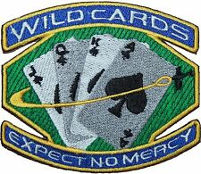 Space Above & Beyond Wild Cards Badge Embroidered Patch 10cm