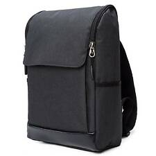 New Man Travel School Office Laptop Rucksack Backpack Shoulder Bag Bookbag Black