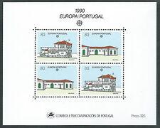 1990 EUROPA PORTOGALLO FOGLIETTO MNH ** - B