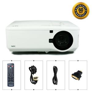 NEC NP4100 DLP Projector 6200 ANSI HD 1080p HDMI-adapter, bundle