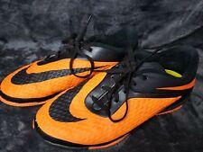 Teenager Girls 5.5 Soccer Nike Indoor Cleats Shoes Orange Black