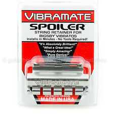 NEW Vibramate Spoiler String Retainer for Bigsby Tremolo SR-1 - STAINLESS SILVER