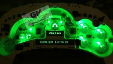 Speedo Cluster Bulb to Green LED Upgrade Kit for GM Trucks and SUV's 03 04 05 06