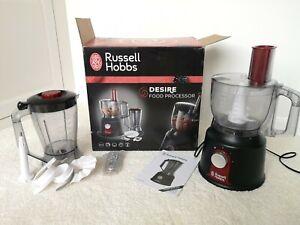 Russell Hobbs Desire Food Processor Red & Black