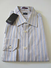 Paul Smith Formal LS Classic Shirt  - Size 16 / 41  - p2p 22 - RRP £225