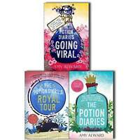 The Potion Diaries Amy Alward 3 Books Collection Pack Set- The Potion Diaries