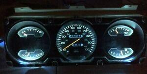 Dodge Ram Ramcharger Cummins Gauge Cluster Ice LED Dash Light Upgrade Kit 93