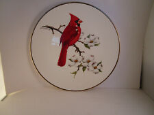 Vintage Avon Collector Plate North American Song Bird Cardinal
