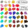 42-Color 210g Metallic Effect Natural Mica Pigment Powder Value Pack 5g/packet