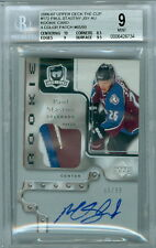 2006-07 THE CUP PAUL STASTNY ROOKIE RC 4 COLOUR LOGO PATCH AUTO BGS 9 MINT   /99