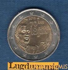 2 euro Commémo - France 2010 70 Ans de l'appel du 18 Juin