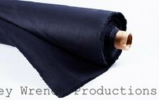 BLACK OUT FABRIC 16 ounce Black Commando Cloth  Duvetyne FR NFPA 701
