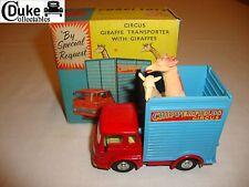 CORGI 503 Circus Giraffa TRANSPORTER CON LE GIRAFFE-MOLTO BUONO in scatola originale