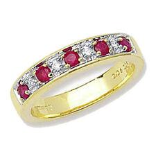 Diamond Ruby Fine Rings
