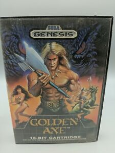 Golden Axe (SEGA Genesis) Authentic BOX Only.  No game, No Manual