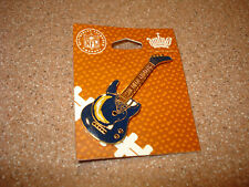 NFL San Diego Chargers Lapel Pin MINT ON CARD FENDER STRATOCASTER  GUITAR