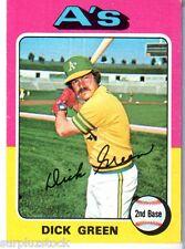 1975 Topps Mini #91 Dick Green Oakland A's (2015-0506)