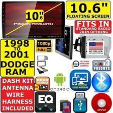 "98-01 DODGE RAM 10.6"" CD/DVD USB BLUETOOTH USB CAR RADIO STEREO PACKAGE"