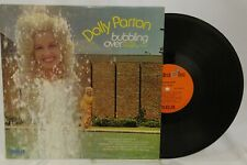 Dolly Parton LP Vinyl Bubbling Over Quadra Disc 1973 RCA Country