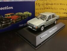 1/43 Atlas Volvo 760 GLE sedan - verde green vert grun - no minichamps RARE