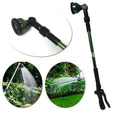 10-Pattern Telescoping Water Wand Hose Nozzle Irrigation Sprinkler Plant Garden