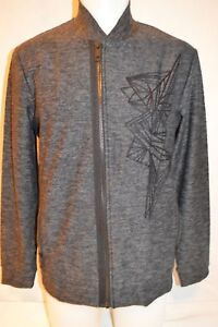 ANTONY MORATO Man's Full Zip Up Sweater Pullover NEW  Size Large  Retail $275