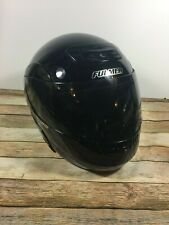 FMVSS N 218 FULMER MOTORCYCLE HELMET BLACK SIZE M WITH LIFT UP FULL FACE