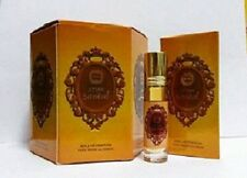 Attar Sandal 8ml By Ahsan Sandalwood Benzoin Amber Musk Roll On box of (6 x 6ml)