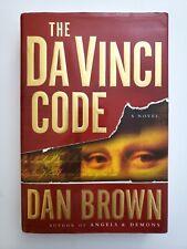 New listing The Da Vinci Code by Dan Brown - Hardcover - 2003