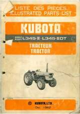 Kubota Tractor L345-II & L345-IIDT Parts Manual