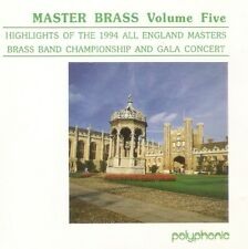 Britannia Building; Brighouse & Rastrick - Master Brass Volume Five (CD 1994)