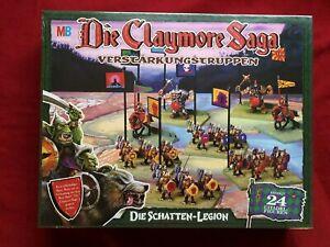 Claymore Saga Erweiterung IN FOLIE  Games Workshop Die Schatten-Legion