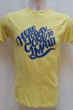 Vintage 70's HERE TODAY GONE TO MAUI T SHIRT - Bantams - Men's XS, Women's S