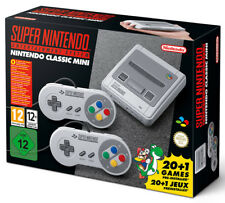 SNES Super Nintendo Classic Mini Console NES 20+1 preinstalled Game 2 Controller