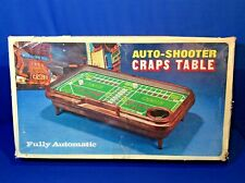 Vintage Waco AUTO SHOOTER Craps Table Fully Automatic Works!