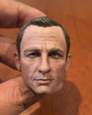 "custom 007 Agent James Bond 1/6 Daniel Craig Head Scuplt For 12"" figure toy"