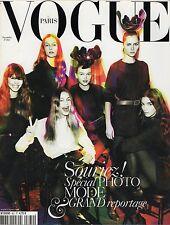 Paris Vogue magazine November 2005  FREJA  SOLANGE      vintage fashion