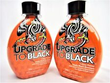 Lot of 2 Ed Hardy Upgrade To Black Triple Bronzer Tanning Bed Lotion 13.5oz